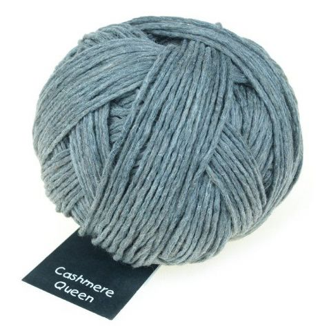 Schoppel-Wolle CASHMERE QUEEN light grey marl 9220